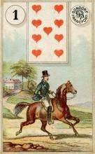 Lenormand Rider Card Meaning