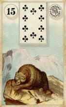 Lenormand Bear Card Meaning
