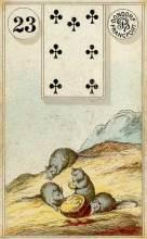 Lenormand Mice Card Meaning
