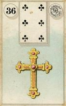 Lenormand Cross Card Meaning