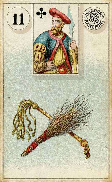 Lenormand Whip Card Meaning & Combinations