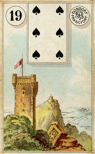 Lenormand - 19.Tower