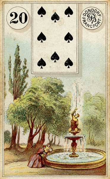 Lenormand Garden Card Meaning & Combinations