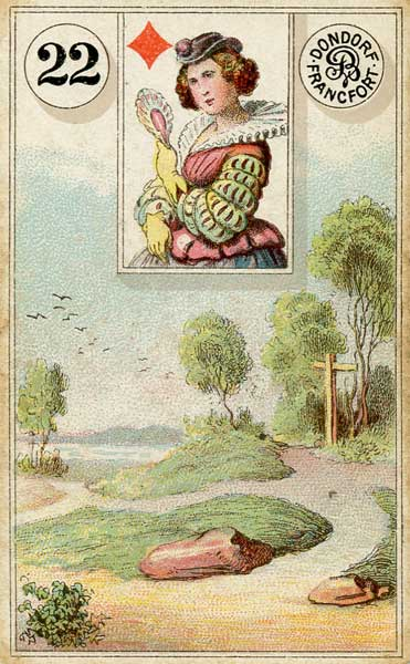 Lenormand - 22.Crossroads