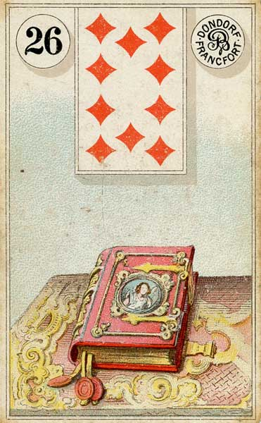 Lenormand Book Card Meaning & Combinations