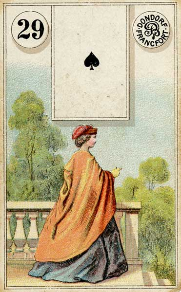 Lenormand - 29.Lady