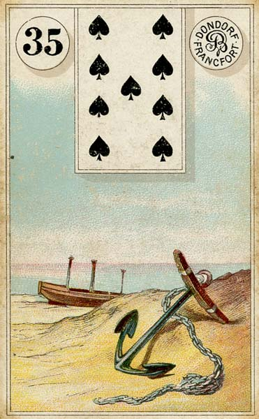 Lenormand - 35.Anchor