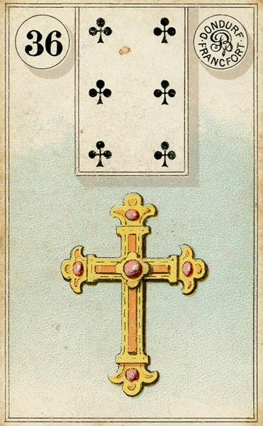 Lenormand - 36.Cross