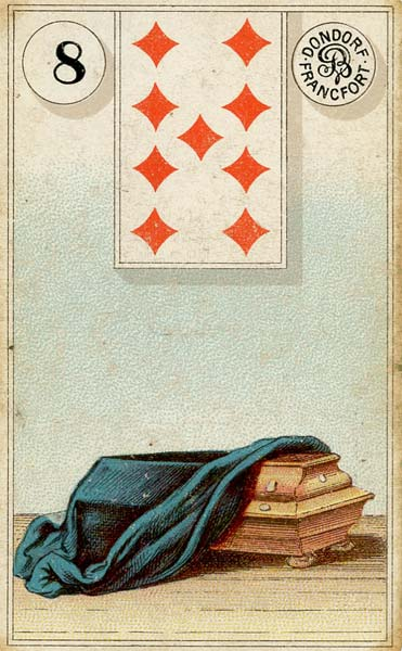 Lenormand - 8.Coffin
