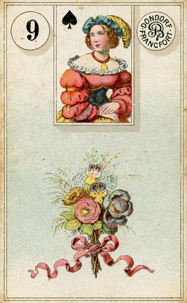 Lenormand - 9.Bouquet