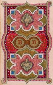 Dondorf Lenormand, Sample Deck card #1
