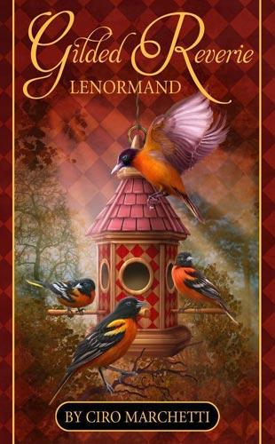 Gilded Reverie Lenormand Box Cover