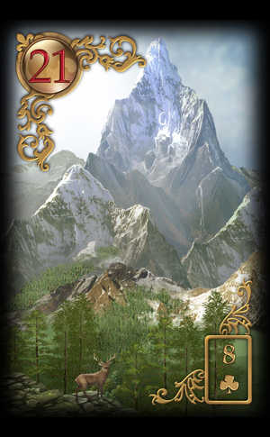 Gilded Reverie Lenormand, Sample Deck card #5