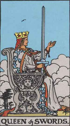 Queen of Swords TarotCard