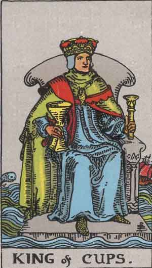 King of Cups TarotCard