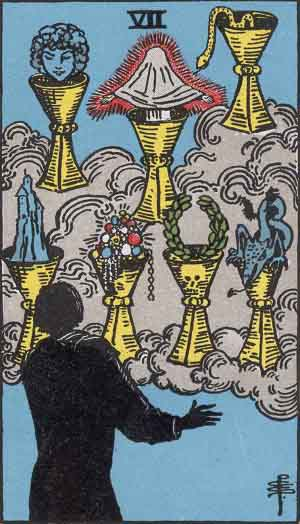 7 of Cups TarotCard