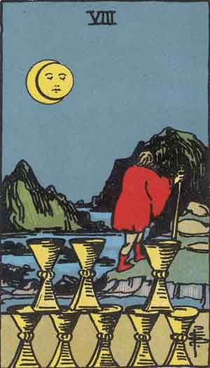 8 of Cups TarotCard