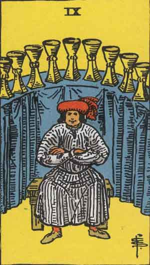9 of Cups TarotCard