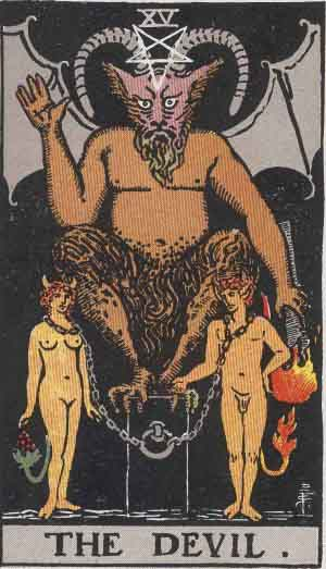 The Devil TarotCard