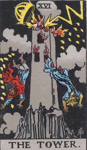 The Tower TarotCard