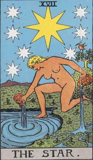 The Star TarotCard