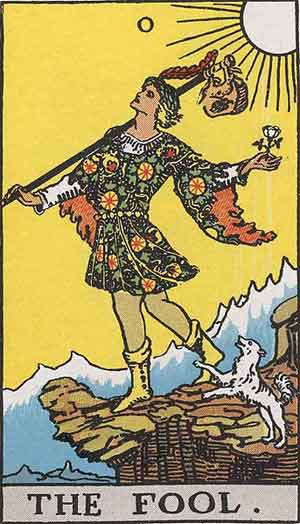 Waite Smith Tarot, 1909, Sample Deck card #2