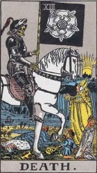 Death Tarot card meaning and interpretation