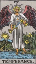 Temperance Tarot card meaning and interpretation