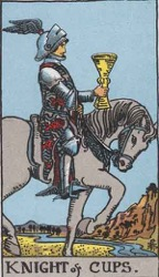 Knight of Cups Tarot card meaning and interpretation