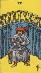 9 of Cups Tarot Card