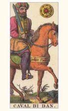 Marseilles Knight of Pentacles Tarot card meaning and interpretation