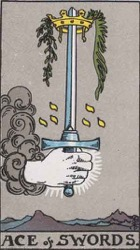 Ace of Swords Card Meaning