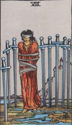 The 8 of Swords Card
