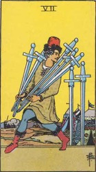 Seven of Swords Card Meaning