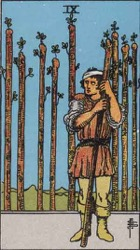Nine of Wands Card Meaning